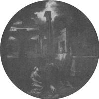 maria magdalena und christus in architekturlandschaft by baldassare (il galanino) aloisi