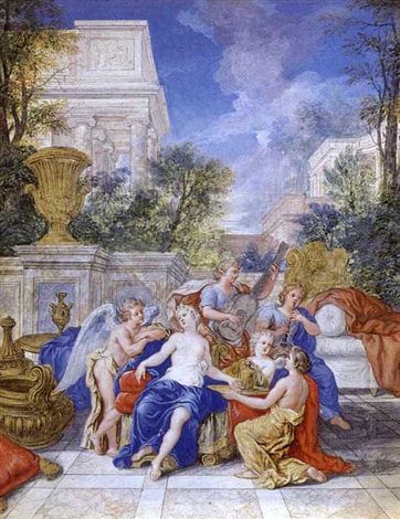 mars et venus by jean cotelle the younger