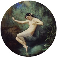 dance of the water nymph by eugène rivaud