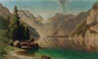 der königsee by fritz chwala