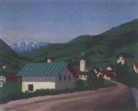 a bavarian village by toon van den muysenberg