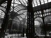 penn station, new york by berenice abbott