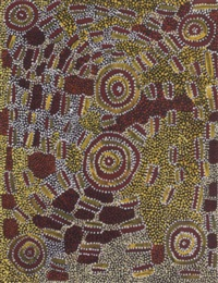 pamapardu jukurrpa - flying ant dreaming by jimija jungurrayi