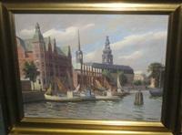 copenhagen canals by frederik wilhelm svendsen