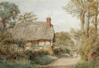 a worcestershire lane by wilmot pilsbury