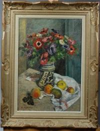 bouquets d anémones by raymond sigurd fredriksen