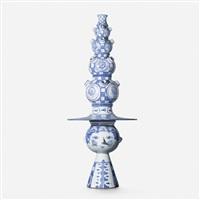 monumental vase by bjørn wiinblad