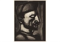 dura lex sed lex (miserere lii) by georges rouault