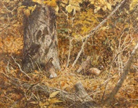 three quail by robert kennedy abbett