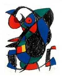 lithographe ii (xiii) by joan miró