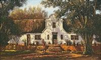 old homestead, worcester by marthinus johannes (tinus) de jongh