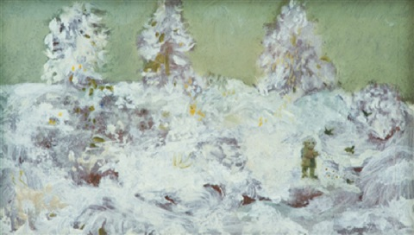 bambino nella neve by antonio possenti
