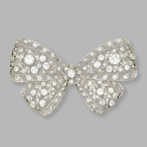 bow brooch by dreicer co