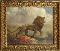 lion belge by louis buisseret