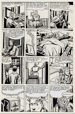 eddy valhardi, le rayon de la mort (le rayon super-gamma) by eddy paape
