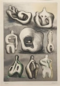 eight sculpture ideas by henry moore