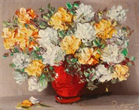 still life with flowers by anne gregory ritter