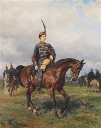 rudolf, archduke and crown prince of austria by carl rudolph huber