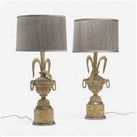 table lamps (pair) by syrie maugham