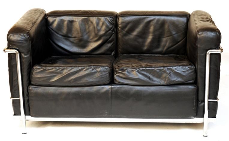divano a due posti lc 2 by le corbusier