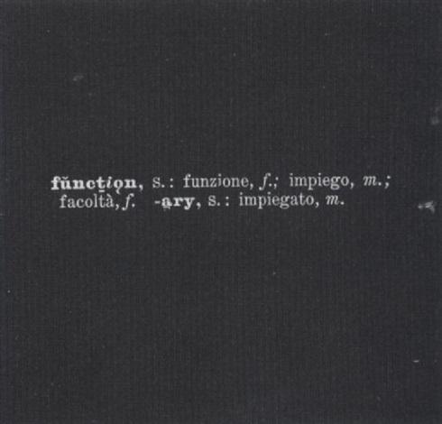 Joseph Kosuth Titled Art As Idea As Idea 1967