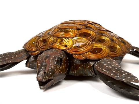 turtle commissioned for the sydney olympic games by michael tuffery