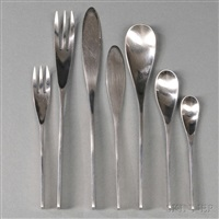 flatware service for twelve (set of 110) by johan hagen