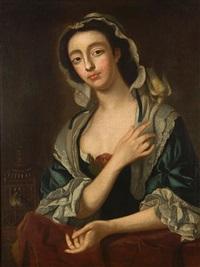 portrait of peg woffington by henry robert morland