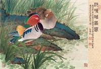 沙暖睡鸳鸯 by liu bonong