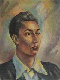 portrait of william james by john f. leonard