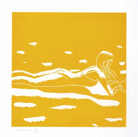 lincolnville labor day 3 works by alex katz