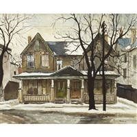 yorkville and hazelton by albert jacques franck