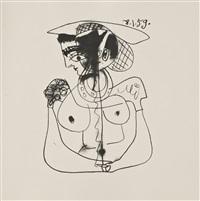 picasso. dibujos y escritos (8·1·59-19·1·59) by pablo picasso
