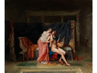 paris und helena by alexandre-évariste fragonard