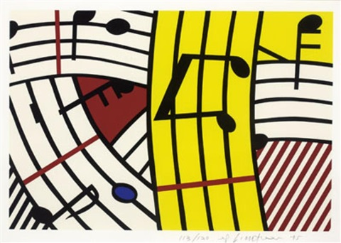 composition iv c293 by roy lichtenstein