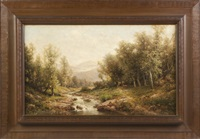 view near elmira, ny by george w. waters