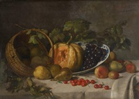 composition aux fruits by frans van vaerenbergh