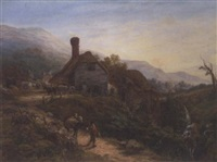 the watermill at ventnor, isle of wight by harriet arnold