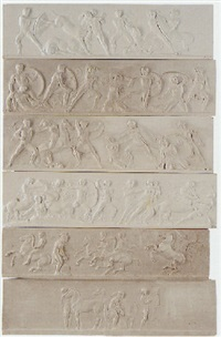 the frieze of the elgin marbles by john henning the elder