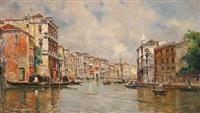 grand canal, venice by antonio maría de reyna manescau
