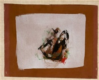 untitled (brown) by cleve gray