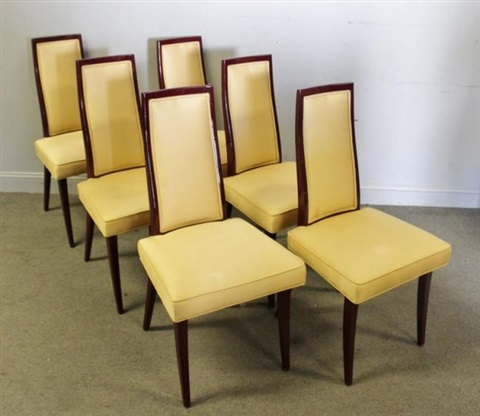 new photos d105a 80958 Midcentury Set of Harvey Probber Dining Chairs by Harvey ...