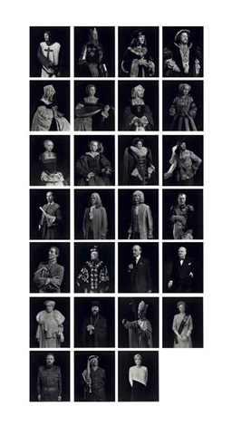 portraits 27 works by hiroshi sugimoto