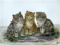 three kittens by bessie bamber