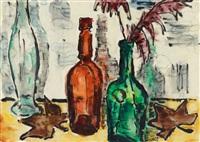 drei flaschen by karl schmidt-rottluff
