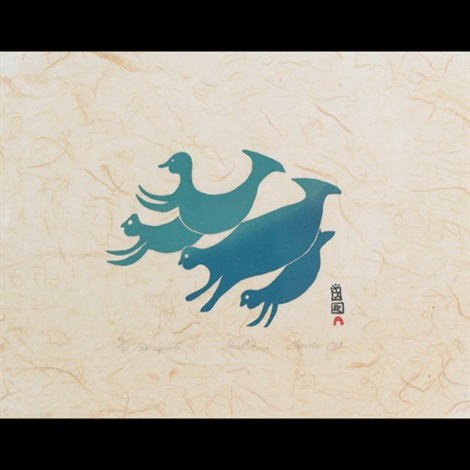 sea spirits by napatchie pootoogook