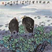 花鸟 by liang shimin