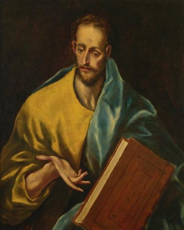 st james the minor by el greco