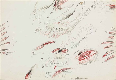 priapus by cy twombly