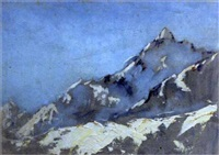 st moritz (+ another; pair) by edward holroyd pearce